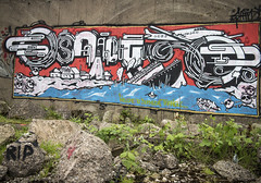 the bermuda triangle (macmarkmcd) Tags: streetart canon grafitti powershot stokeontrent staffordshire compact westportlake g1x