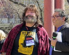 Mick Foley with Mayor Naheed Nenshi (5of7) Tags: canon powershot wrestler wwe 2015 mickfoley calgarycomicentertainmentexpo calgarycomicexpo sx50 naheednenshi comicentertainmentexpo paradeofwonders