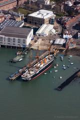 Warrior (Al Henderson) Tags: iron navy royal portsmouth warrior warship rn hms hulled