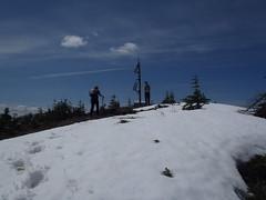 Edward & Greg Near Summit...