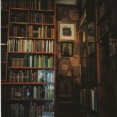 afternoon in brighton (Carol...lina) Tags: uk england film mediumformat brighton bookshop filmphotography antiquebooks yashica635