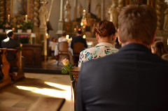 Wedding... (++NiklasPhotography++) Tags: wedding licht nikon bokeh 18 hochzeit 30mm christuskirche tiefenschrfe gemen hochzeitsfotografie lightchurch d7000
