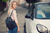 Jana (biely vlk) Tags: road street portrait people woman ford love girl smile car bag naked outside freedom town flickr skin outdoor citylife images blond getty blondie freepeople smarth