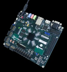 ZedBoard Zynq-7000 ARM/FPGA SoC Development Board (Digilent, Inc.) Tags: windows design hardware video student arm board system io software processing linux professor soc electronic maker development engineer android connector logic fpga hobbyist xilinx programmable digilent zynq7000 zedboard armfpga osrtos