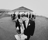 J&M (dr.snitch) Tags: wedding party bw white black film square photography kiss married brian bridal geltner briangeltner canon15mmf28