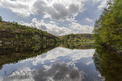 digley resevoir (law-photography2014) Tags: trees reflection water reflections landscape view resevoir digley digleyresevoir