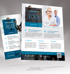 Business Corporate Flyer 04c (valentinplesa) Tags: promotion modern ads design marketing flyer education creative clean company management advert letter a4 advertisements financial template consulting multipurpose sabin editable magazineads companyprofile freefont businessflyer corporateflyer
