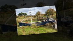 A Return to Skipool Creek (alsimages1 - Thank you for 860.000 PAGE VIEWS) Tags: boats repairs berth jetty water river wyre photos moody clouds sails slipway clubhouse commodore captain yachts dinghy barge cruiser mud riverbank fishing food drink