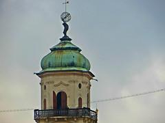 Prague, Czech Republic. October 28, 2016 (Aris Jansons) Tags: tower statue city capital prague praha czech esko europe 2016 windsock