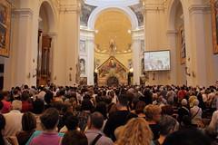 Preghiera silenziosa (Mauro.. take a look through my eyes) Tags: assisi indulgenza festa del perdono 2016 2 agosto santa maria degli angeli