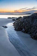 Return to the Sea (loomstone) Tags: ogunquit maine beach newengland sunrise dawn rocks seaweed