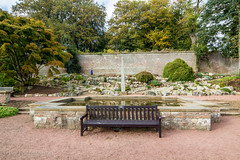 298 - meeting place (md93) Tags: belleisle park gardens ayr south ayrshire flowers pond memorial seat bench