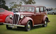 1938 Morris 12/8 Saloon (jinba.ittai) Tags: centralcoastcarscoffee 1938morris 1938morris128 morris saloon 128 twelveeight seriestwelve morrissaloon burgundy 1938