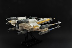 T-65BR X-wing: Reconnaissance variant (2) (Inthert) Tags: lego t65 fighter sfoils x wing star wars ship moc rebel rogue squadron astromech incom reconnaissance sensor nose nrin vakil recon