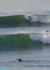 AutumnStoke (mcshots) Tags: usa california socal losangelescounty coast beach ocean waves surf breakers combers surfers surfing sea water action nature tubes 2016 stock mcshots point topanga smrgsbord