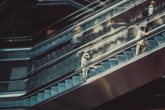 Escalating (MarcusWitte) Tags: berlin deutschland stil tiergarten wallpaper germany station central bahn bahnhof hauptbahnhof zug sbahn ubahn strecke schiene center centre deu