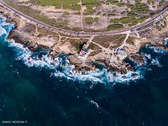 Picking up (Daniel Moreira) Tags: cabo raso cascais portugal road estrada lighthouse farol rocks rochas sea mar waves ondas drone dji phantom phantom4