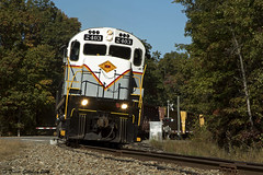 Grab Shot (Trevor Sokolan) Tags: america alco century c424 diesel locomotive delawarelackawanna dl pa pennsylvania henrys crossing pocono curve trains train trainspotting tracks railway railroad railfan rail railfanning shortline gvt