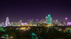 Dallas city skyline_ (ruijuanwang2) Tags: dallas cityskyline skyline lights building bridge