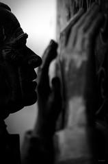 Umanita (Danilo Mazzanti) Tags: danilo danilomazzanti mazzanti wwwdanilomazzantiit fotografia foto fotografo photos photography biancoenero blackandwhite apparizione madonnadellaguardia preghiera umanit