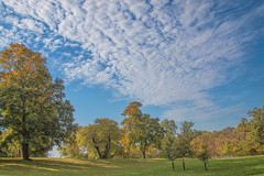 Ohio Autumn 2016 (glenda.suebee) Tags: autumn fall colorful clouds blue skies ohio griggs glendaborchelt 2016 canon 70d 24mm iso160 f71 11600