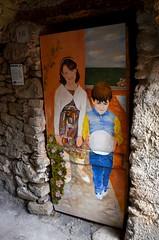 Valloria (103) (Pier Romano) Tags: valloria porte porta dipinta dipinte door doors painted imperia liguria italia italy nikon d5100 paese town dolcedo artisti pittori