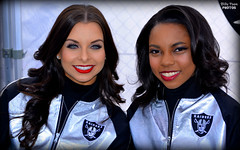 2016 Oakland Raiderettes Autumn & Loren (billypoonphotos) Tags: 2016 oakland raiders raiderette raiderettes raider nation raidernation loren autumn nfl football fabulous females cheerleaders cheerleading dance dancer nikon d5200 billypoon billypoonphotos silver black picture photo photographer photography pretty girls ladies women squad team people coliseum raiderville carolina panthers