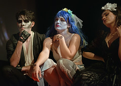 Hot and Flustered Shadow Cast (Peter Jennings 19 Million+ views) Tags: hot flustered shadow cast performing rock horror picture show vic devonport auckland new zealand peter jennings nz