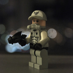 I am going into space... (11inthewoods) Tags: lego minifig minifigures space custom galaxysquad soldier brickforge