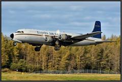 N9056R Everts Air Cargo (Bob Garrard) Tags: n9056r everts air cargo douglas dc6a dc6 anc panc