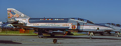 RF-4C Phantom II 64-1041 117 RW Alabama ANG painted by Don Spering, London IAS 1993 (yvesff) Tags: rf4c phantom spering