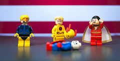 The Darkest Timeline (Jonathan Wong Photography) Tags: donald trump reverse flash election 2016 president of united states lego political commentary booster gold shazam billy batson dc comics cold hard reality darkest timeline