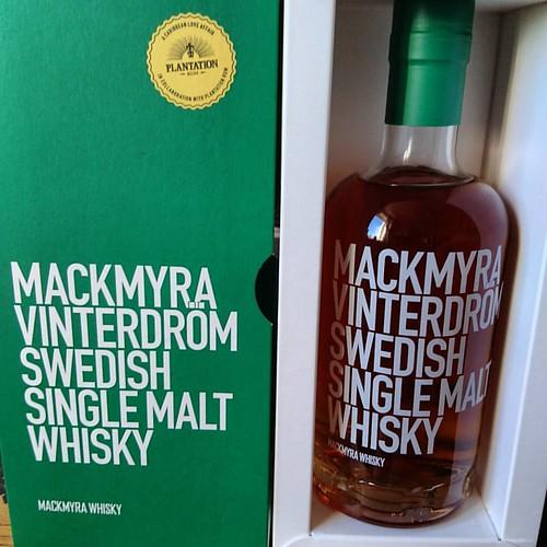 Senaste #mackmyrawhisky som smaka otroligt bra. #mackmyra #vinterdröm @mackmyrawhisky #Whisky