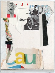 Starter collage sent out for Claudio Parentela, lost in the post (Armand Brac) Tags: collage armandbrac art artwork abstract handmade collageart cutpaste mixedmedia mixmedia paper cutandpaste paperart analogue