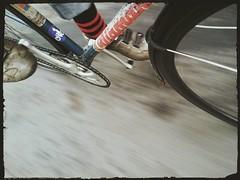 Rush (Hagbard_) Tags: fixed fixedgear diamant bahnrad trackbike brakeless nobrakes tour fun sport outside sidi shoes singlespeed ride bike velo