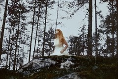 Another world (.everlasting) Tags: novembergraveyard melancholy solitude trees forest grain film 35mm portrait pale poetic cold blackness north mystic tuonela finland everlasting feverdreams analogue hadararielmagar