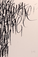 From the left (Ivan Jernimo) Tags: caligrafia calligraphy calligraphie kalligraphie contemporary modern expressive abstract art composition desconstructed abstrata contempornea contemporaine ruling pen tiralinhas tiralineas tireligne
