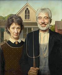 Serbian Gothic (Boris Mrdja) Tags: grantwood americangothic portrait portraiture portreti retouching photoshop