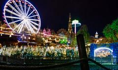 winter wonder land (madrave2003) Tags: edinburgh nikon d3200 tokina wideshoot night xmas wonder land amusement park