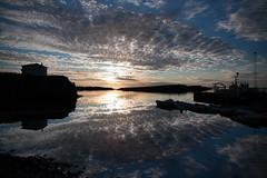 Sunset in Stykkishlmur... (Hans-Franz) Tags: canoneos40d efs1585mmf3556isusm iceland island islande coucherdesoleil sonnenuntergang sunset wolke nuage cloud