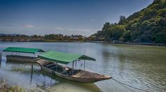 Covered boats (docmartin51) Tags: japan boats riverscene