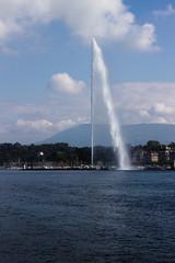 Jet d'eau de Genve (charles.caer) Tags: geneva genve genf switzerland jetdeau