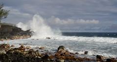 La Runion (ingridkreuz) Tags: runion indischerozean indianocean insel frankreich france outremer strand beach brandung gischt wild