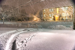 Pre-Dawn Snow Storm (James P. Mann) Tags: snowfall snowstorm fall storm november autumn winter moncton new brunswick