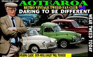 Vintage Tweed And Vintage cars 4
