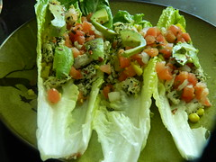 Turkey Mock Tacos (AbelZ728) Tags: food turkey avocado corn onion salsa cilantro limes bellpepper romainelettuce afoodphotographyexperience veggiebroth