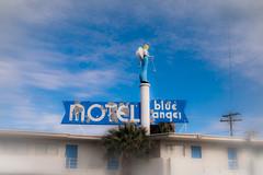 Blue Angel Motel (TooMuchFire) Tags: vegas signs vintage typography lasvegas nevada motels lightroom oldsigns vintagesigns vintagesignage oldmotels canon30d blueangelmotel vegassigns lightroom3 vintagemotelsigns toomuchfire 2110fremontstlasvegasnv
