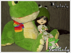 30 Days of Kim: Day 02/30 - Favourite Animal (SweetLuly) Tags: verde green dolls frog pullip kimberly sapos chill obitsu junplanning cancanwig 25cm pullipchill polypop gizamartins maluupink 30daysofkim