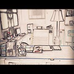 @My Working Desk ... นี่แหละ ที่ฉันนั่งทํางานทุกวัน (เว้นวันอาทิตย์)