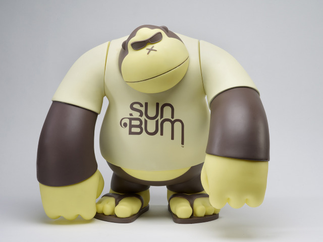 Sun Bum Ape Mascot Figures / Sun Bum的品牌玩具